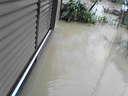 床下浸水の写真